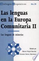 Las lenguas en la Europa Comunitaria II