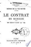 Le contrat de mariage