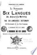 Le dictionnaire des six langues