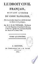 Le droit civil suivant l'ordre du Code...