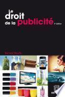 Le droit de la publicité
