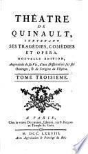 Le fantôme amoureux. Agrippa, ou, Le faux Tiberinus. Astrate. La mere coquette, ou, Les amants brouillez. Bellerophon. Pausanias