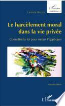 Le harcèlement moral dans la vie privée