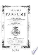 Le livre des parfums
