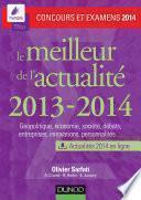 Le meilleur de l'actualité 2013-2014 - Concours et examens 2014
