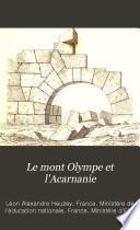 Le mont Olympe et l'Acarnanie