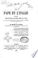 Le pape et l'Italie