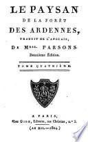 Le paysan de la foret des Ardennes