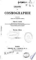 Leçons de cosmographie...