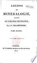 Leçons de minéralogie données au Collège de France