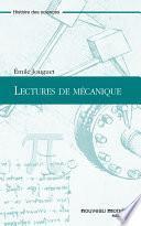 Lectures de mécanique
