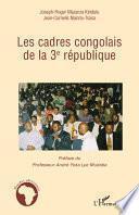 Les cadres congolais de la 3è république