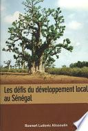 Les defis du developpement local au Senegal