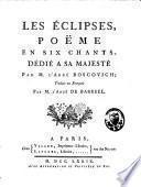 Les éclipses