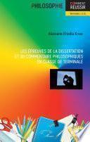 Les épreuves de la dissertation et du commentaire philosophiques en classe de terminale