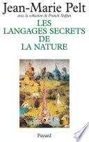 Les Langages secrets de la nature