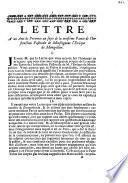 Lettre à un ami de province au sujet de la troisième partie de l'Instruction pastorale de monseigneur l'évêque de Montpellier [C.-J. Colbert], [à Paris, ce 15 février 1737].