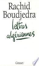 Lettres algériennes