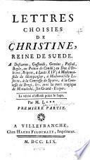 Lettres choisies de Christine