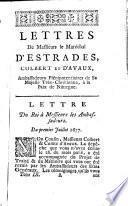 Lettres, mémoires et négociations de monsieur le comte d'Estrades