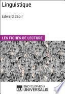 Linguistique d'Edward Sapir