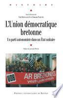 L'Union démocratique bretonne
