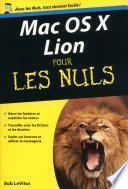 Mac OS X Lion Poche Pour les Nuls