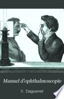 Manuel d ophthalmoscopie