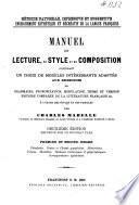Manuel de lecture, de style et de composition