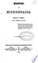 Manuel du missionnaire
