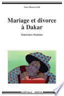 Mariage et divorce à Dakar