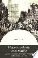 Marie-Antoinette et sa famille