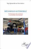 Mécanique automobile
