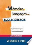 Mémoire, langages et apprentissage