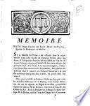 Mémoire pour Dame Jeanne de Saint-Remy de Valois, Epouse du Comte de La Motte