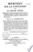 Mémoire sur la contagion de la fièvre jaune