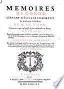 Memoires de Condé, servant d'éclaircissement et de preuves à l'Histoire de m. de Thou