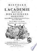 Mémoires de l'Acadêmie des sciences de l'Institut de France