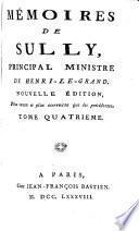 Mémoires de Sully, principal ministre de Henri-le-Grand. ... Tome premier.[-sixieme.].