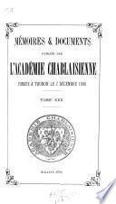 Mémoires & documents