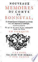 Mémoires du comte de Bonneval