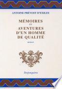 Mémoires et aventures d'un homme de qualité (1728)