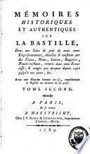 Mémoires historiques et authentiques sur la Bastille