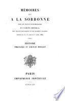 Mémoires lus à la Sorbonne dans les séances extraordinaires du Comité Impérial des Travaux Historiques et des Sociétés Savantes