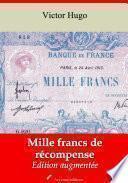 Mille francs de récompense
