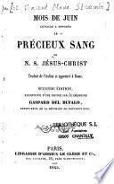 Mois de juin consacré à honorer le précieux sang de N. S. Jésus-Christ