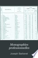 Monographies professionnelles