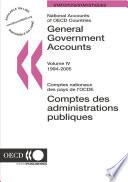 National Accounts of OECD Countries 2006, Volume IV, General Government Accounts