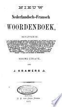 Nieuw Nederlandsch-Fransch woordenboek