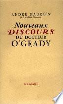 Nouveaux discours du dr. O'Grady